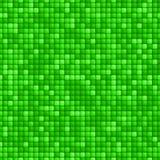 Teste padrão sem emenda da telha verde Ilustração do Vetor
