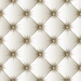 Teste padrão sem emenda da textura branca de estofamento Imagem de Stock
