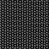 Teste padrão sem emenda da textura da fibra do carbono Imagens de Stock