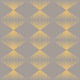 Teste padrão sem emenda da textura do fundo de Art Deco Foto de Stock Royalty Free