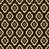 Teste padrão sem emenda da textura do fundo de Art Deco Fotografia de Stock Royalty Free