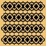 Teste padrão sem emenda da textura do fundo de Art Deco Imagem de Stock