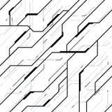Teste padrão sem emenda da textura futurista do vetor imagens de stock