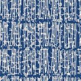 Teste padrão sem emenda da tintura do laço do vetor do índigo ilustração do vetor