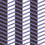 Teste padrão sem emenda da viga Branco colorido, roxo escuro e na luz - fundo roxo do ziguezague Imagens de Stock