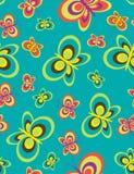 Teste padrão sem emenda das borboletas Imagem de Stock
