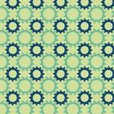 Teste padrão sem emenda das engrenagens coloridos Foto de Stock