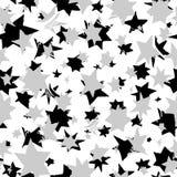 Teste padrão sem emenda das estrelas Foto de Stock Royalty Free
