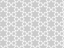 teste padrão sem emenda das estrelas geométricas Projeto gráfico da forma Ilustração do vetor Projeto do fundo Bakground asiático Fotos de Stock