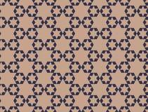teste padrão sem emenda das estrelas geométricas Projeto gráfico da forma Ilustração do vetor Projeto do fundo Bakground asiático Fotos de Stock Royalty Free