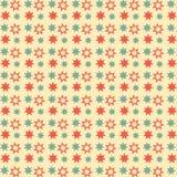 Teste padrão sem emenda das estrelas retros Foto de Stock
