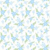 Teste padrão sem emenda das flores Imagens de Stock