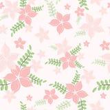 Teste padrão sem emenda das flores Fotografia de Stock Royalty Free