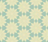 Teste padrão sem emenda das flores abstratas do vetor Fotos de Stock Royalty Free