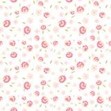 Teste padrão sem emenda das flores bonitos Foto de Stock