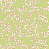 Teste padrão sem emenda das flores bonitos Fotografia de Stock