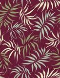 Teste padrão sem emenda das folhas da palma Imagens de Stock Royalty Free