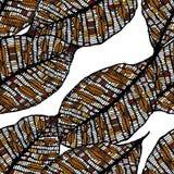 Teste padrão sem emenda das folhas de outono ilustração stock