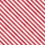 Teste padrão sem emenda das listras diagonais vermelhas e brancas ilustração royalty free