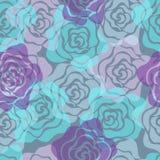 Teste padrão sem emenda das rosas Fotografia de Stock