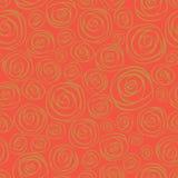 Teste padrão sem emenda das rosas. Fundo vermelho. ilustração stock