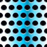 Teste padrão sem emenda de aço azul Imagem de Stock