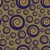 Teste padrão sem emenda de borbulhagem abstrato Imagem de Stock
