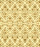 Teste padrão sem emenda de Brown Imagem de Stock Royalty Free