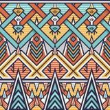 Teste padrão sem emenda de Chevron para o projeto de matéria têxtil ilustração royalty free