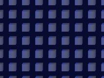 Teste padrão sem emenda de cubos azuis imagens de stock