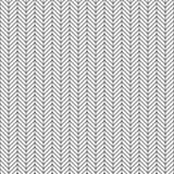 Teste padrão sem emenda de desenhos em espinha do vetor Linha geométrica textura Fundo preto e branco Projeto monocromático ilustração do vetor
