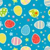 Teste padrão sem emenda de Easter Fotos de Stock Royalty Free