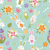 Teste padrão sem emenda de Easter Fotos de Stock