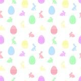 Teste padrão sem emenda de Easter Imagens de Stock Royalty Free