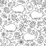 Teste padrão sem emenda de Easter ilustração stock