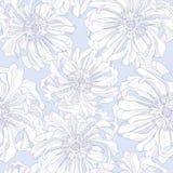 Teste padrão sem emenda de flores botânicas Fotografia de Stock Royalty Free