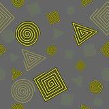 Teste padrão sem emenda de formas geométricas Imagem de Stock