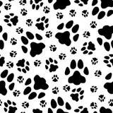 Teste padrão sem emenda de fugas dos gatos ilustração royalty free