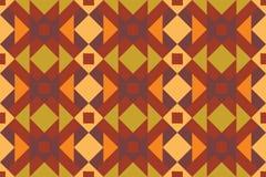 Teste padrão sem emenda de Geo, ornamento étnico, motivo popular, fabr sem emenda Foto de Stock Royalty Free