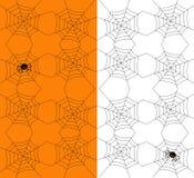 Teste padrão sem emenda de Halloween Ilustração do vetor Fotografia de Stock