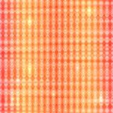 Teste padrão sem emenda de matéria têxtil abstrata vermelha do ziguezague Imagens de Stock