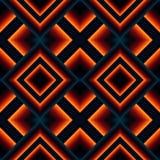 teste padrão sem emenda de matérias têxteis de rhombuses Fotografia de Stock