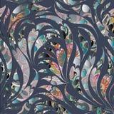 Teste padrão sem emenda de Paisley Fundo decorativo floral colorido Fotografia de Stock Royalty Free