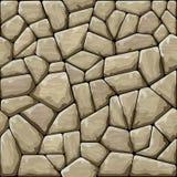 Teste padrão sem emenda de pedra Foto de Stock Royalty Free