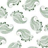 Teste padrão sem emenda de pepinos indianos Imagem de Stock Royalty Free