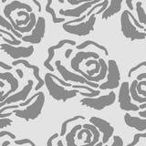 Teste padrão sem emenda de Rosa O fundo do vintage com levantou-se Foto de Stock
