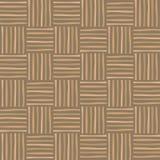 Teste padrão sem emenda de vime Fundo de madeira decorativo abstrato da textura ilustração do vetor