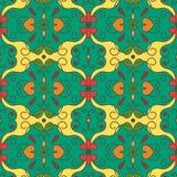 Teste padrão sem emenda decorativo Imagem de Stock Royalty Free