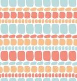 Teste padrão sem emenda decorativo abstrato ilustração royalty free