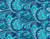 Teste padrão sem emenda decorativo floral decorativo Ilustração Royalty Free